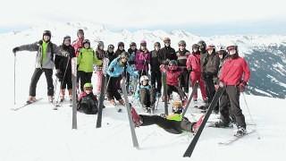 obóz narciarski HORN 2013