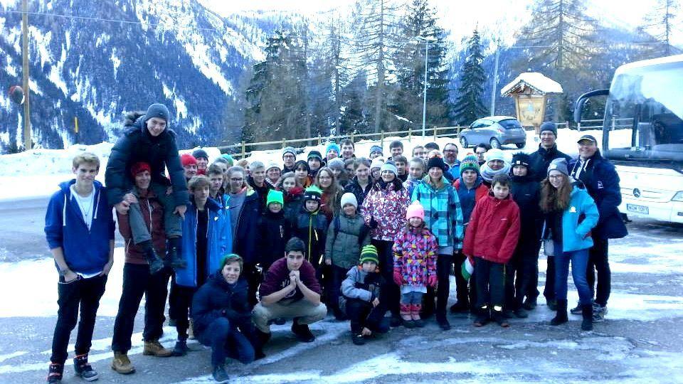 Obóz narciarski HORN 2015 Val di Sole, Włochy