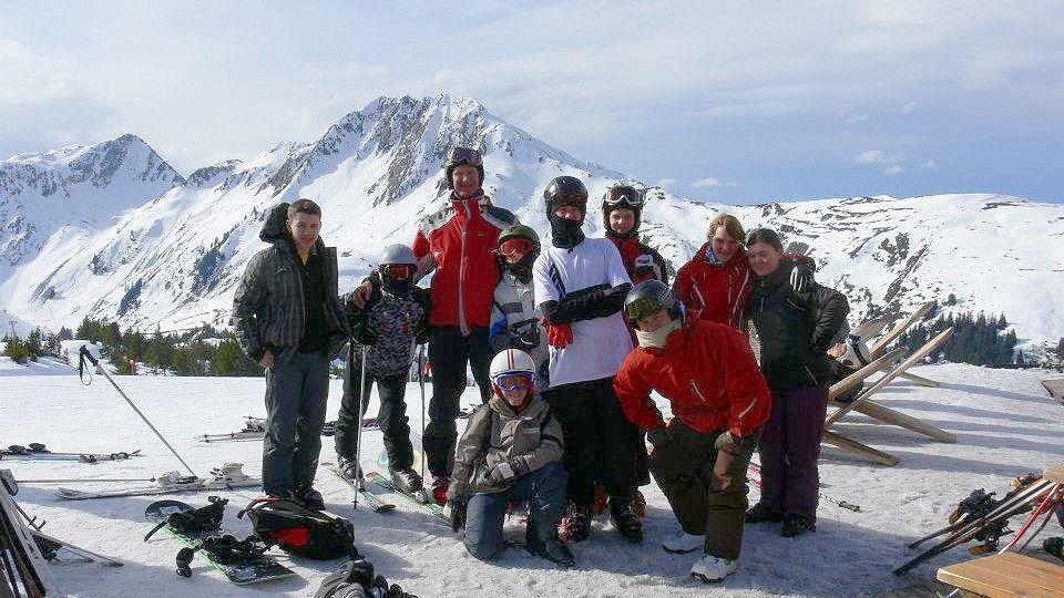 Obóz narciarski HORN 2011 Kitzbuehel Alps, Austria