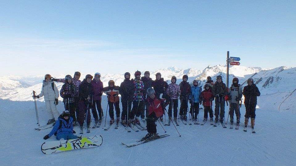 Obóz narciarski HORN 2012 Trzy Doliny, Francja