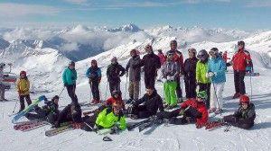obóz narciarski HORN 2014
