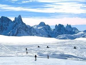 obóz narciarski 2016 - Val di Femme, Włochy
