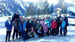 obóz narciarski HORN 2015