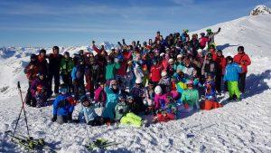 obóz narciarski HORN 2018