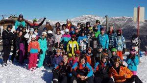 obóz narciarski HORN 2017