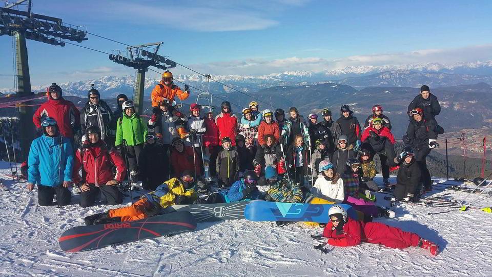 Obóz narciarski HORN 2016 Val di Fiemme, Włochy